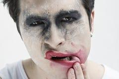 Jokergezicht Stock Afbeelding