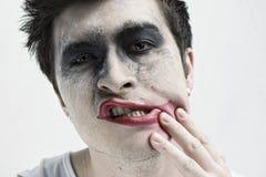 Jokergezicht Stock Foto's