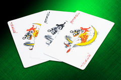 Jokers cards royalty free stock image