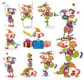 Jokers various activities Stock Photo