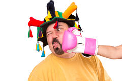 Jokester Got Smashed Royalty Free Stock Photos