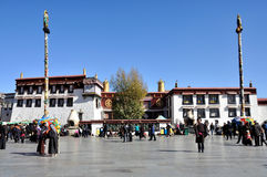 Jokhang寺庙 库存图片