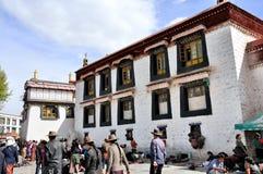 Jokhang寺庙 图库摄影