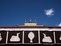 jokhang ναός Στοκ Φωτογραφίες