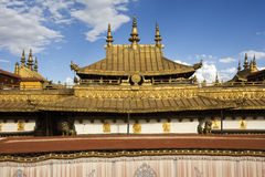Jokhang Monastery in Lhasa in Tibet Royalty Free Stock Photography