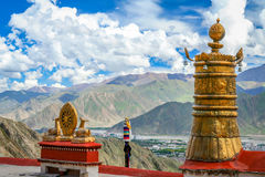 Jokhang Monastery in Lhasa Stock Images