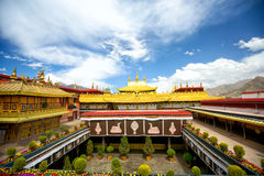 Jokhang monastery Stock Photos