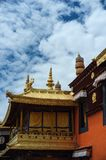 Jokhang tempel Royaltyfri Fotografi
