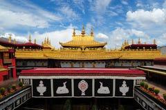 Jokhang Tempel Lizenzfreie Stockfotografie