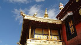 Jokhang-Tempel, Lhasa Lizenzfreies Stockfoto