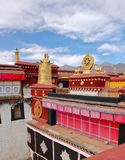 Jokhang temple Stock Images