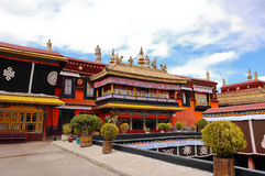 Jokhang temple Royalty Free Stock Photos