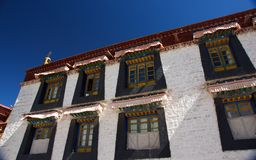 The Jokhang Temple Royalty Free Stock Photos