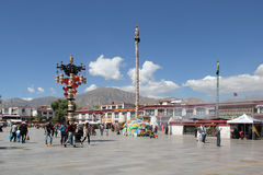 Jokhang temple, Lhasa Stock Photography