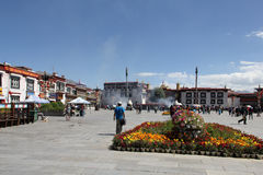 Jokhang temple, Lhasa Royalty Free Stock Image