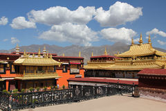 Jokhang temple, Lhasa Stock Images