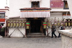 Jokhang Temple. In Lhasa,Tibet royalty free stock photos