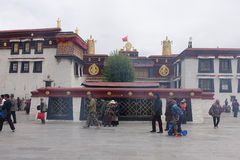 Jokhang Temple. In Lhasa,Tibet Royalty Free Stock Images