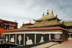 Jokhang temple in Lhasa, Tibet Stock Photography