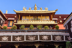 The Jokhang Temple. In Lhasa, Tibet, China Stock Images