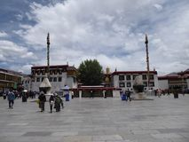 Jokhang temple Lhasa Tibet stock photo