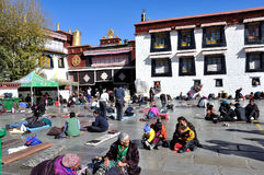 The Jokhang Temple stock photography