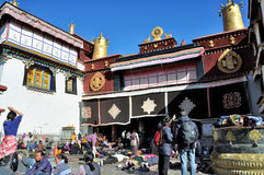 The Jokhang Temple Royalty Free Stock Photography