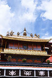 Jokhang temple, Tibet Royalty Free Stock Images