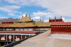 Jokhang temple, Tibet Stock Photos