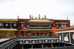 Jokhang temple in Tibet Stock Images