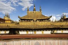 jokhanglhasa kloster tibet Royaltyfri Fotografi