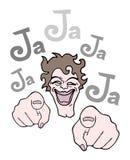 Joking illustration Stock Photos