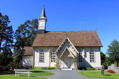 Jokioinen Lacework Church Royalty Free Stock Images