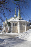 Jokkmokk church Royalty Free Stock Images