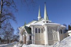 Jokkmokk-Kirche Stockbilder