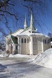 Jokkmokk kyrka Royaltyfria Bilder