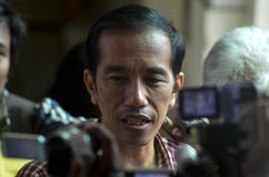JOKOWI INDONESIAN PRESIDENTIAL CANDIDATE Stock Images