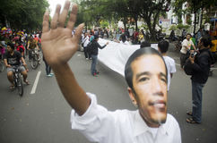 JOKOWI LOSING POPULARITY Stock Images