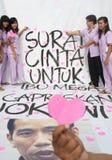 Jokowi for president Stock Photos