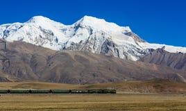 jokul西藏 免版税图库摄影
