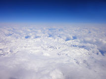 Jokul e o céu Imagem de Stock Royalty Free