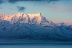 Jokul in the morning royalty free stock photo