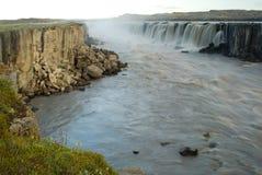 Jokulsa река fjollum в национальном парке Jokulsargljufur, Исландии Стоковые Фотографии RF