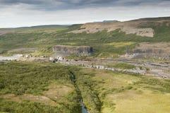 Jokulsa a Fjollum river (Iceland) Royalty Free Stock Images