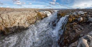 Jokulsa a Fjollum river in Northeast Iceland Royalty Free Stock Photos