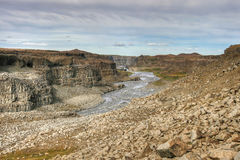 Jokulsargljufur canyon Royalty Free Stock Photography