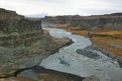 Jokulsargljufur canyon Royalty Free Stock Photo