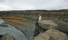 Jokulsargljufur canyon Stock Photo