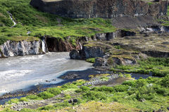 Jokulsargljufur National Park Stock Images