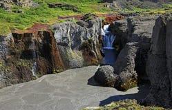 Jokulsargljufur National Park Stock Image